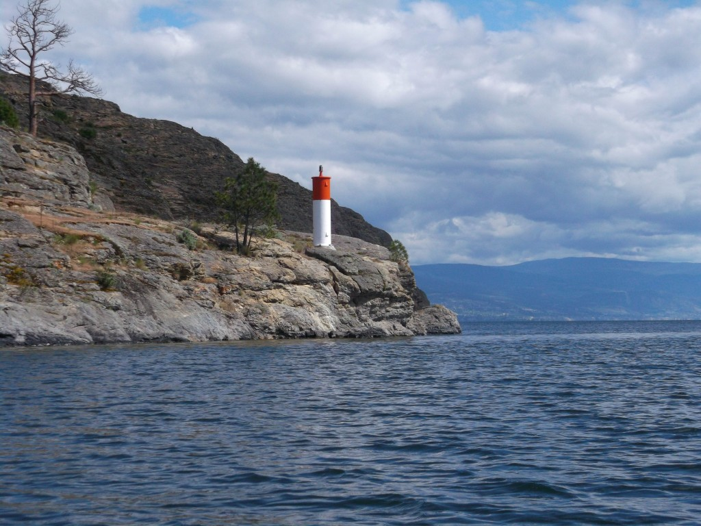 Squally Point, the legendary home of Ogopogo